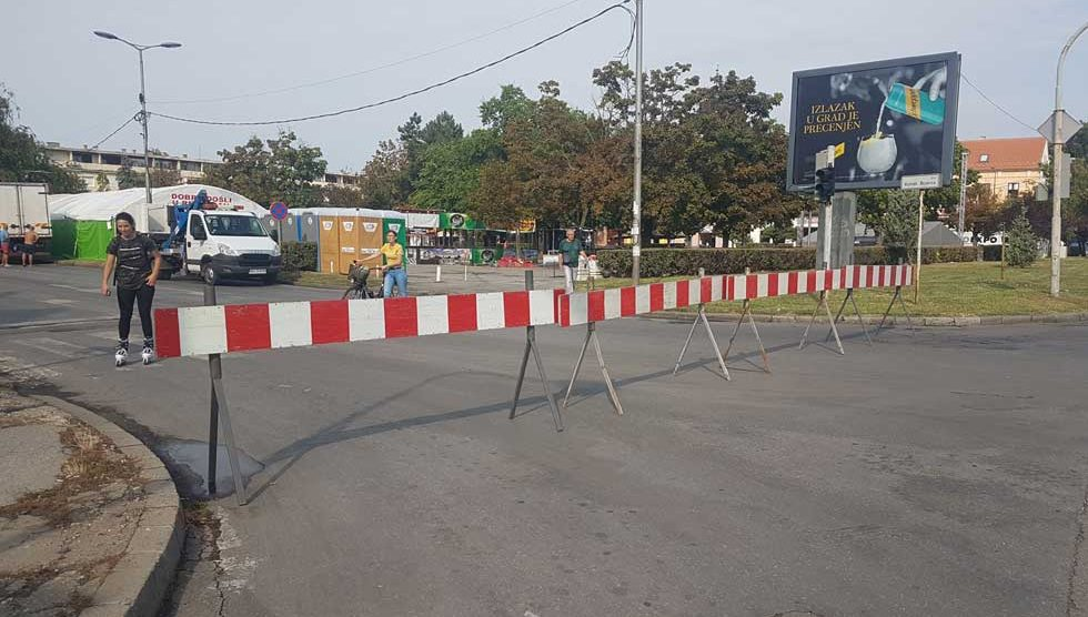 zatvoren saobraćaj