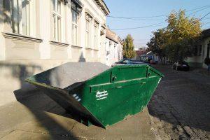 raspored kontejnera za kabasti otpad