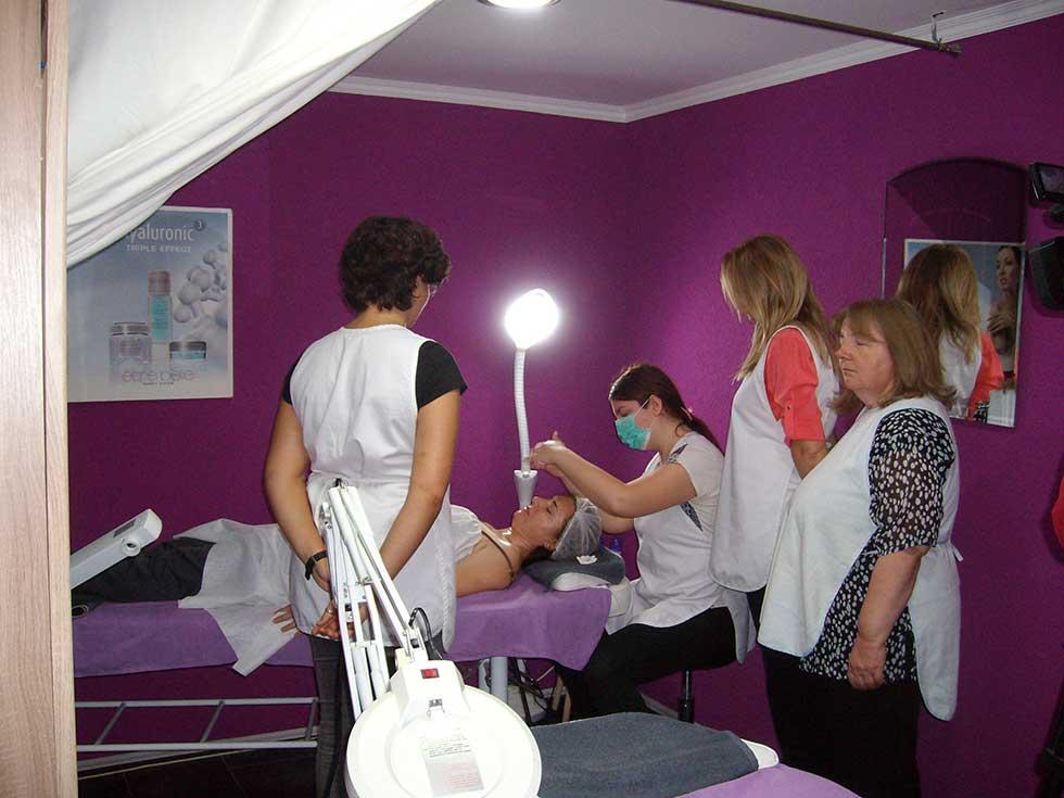 obuka za kozmetičarke