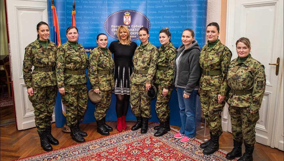 pripadnice vojske srbije