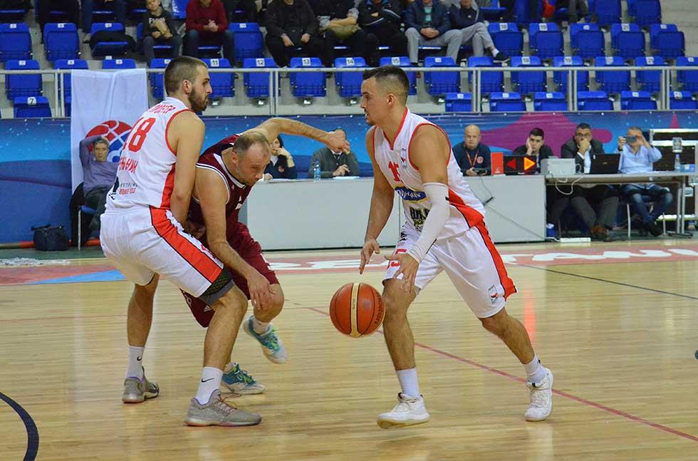 košarkaši zrenjaninskog proletera