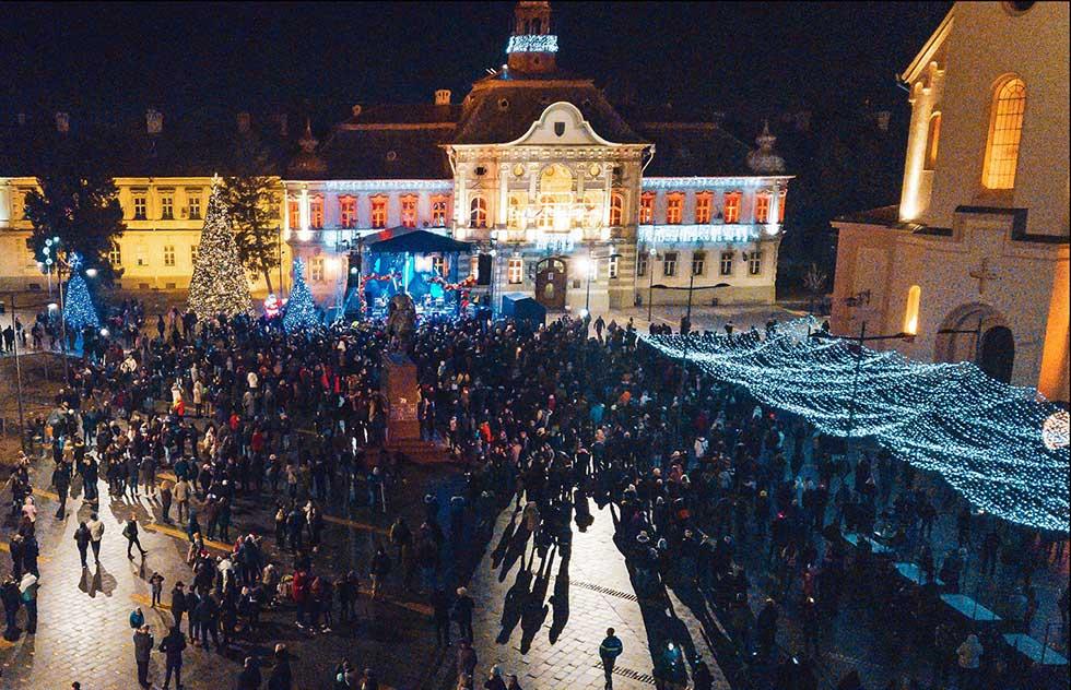 nova godina na trgu slobode