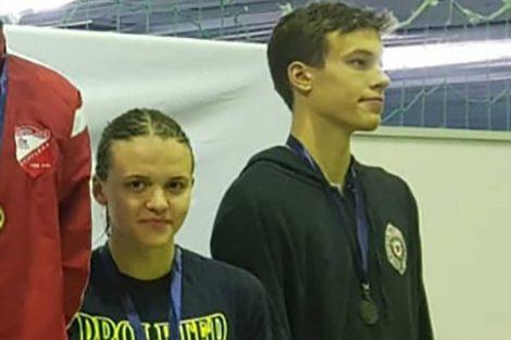plivači proletera na prvenstvu srbije