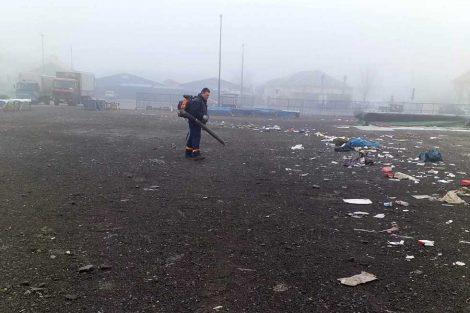 radnici jkp čistoća i zelenilo