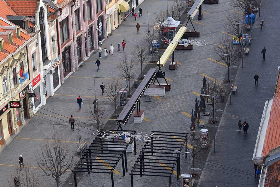 glavna ulica u zrenjaninu