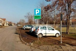 privremeni parking