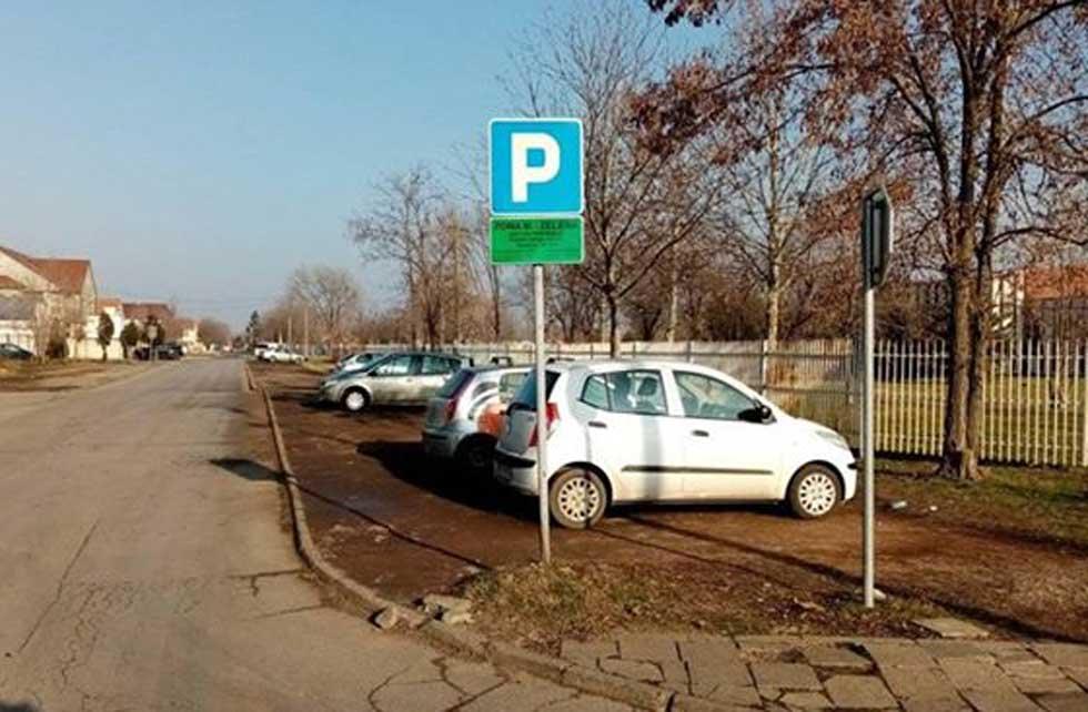 privremeni parking