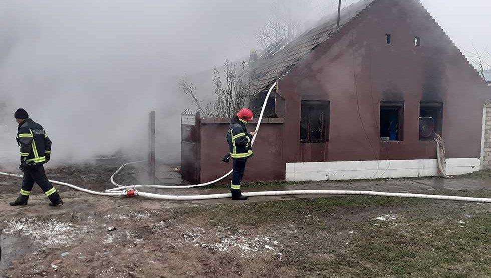 kuća izgorela u požaru