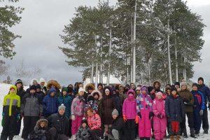 učenici u zimskoj školi veronauke
