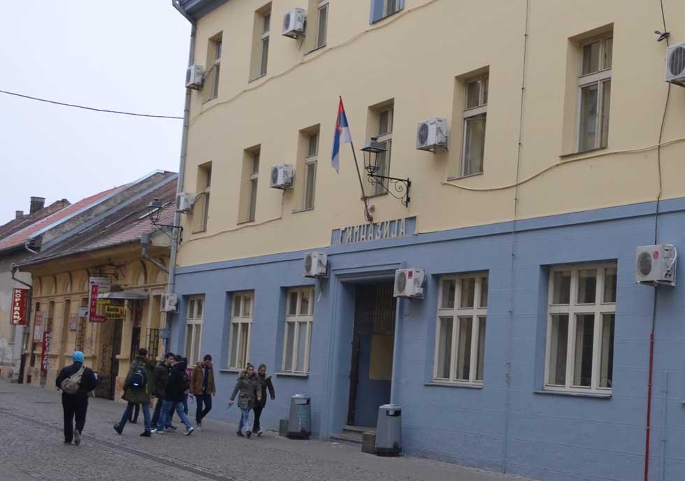 zgrada zrenjaninske gimnazije