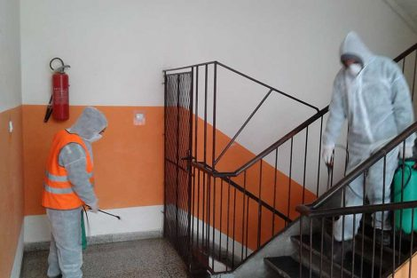dezinfekcija zgrada