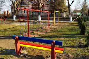 aleksandra damjanov uredila dečije igralište u orlovatu