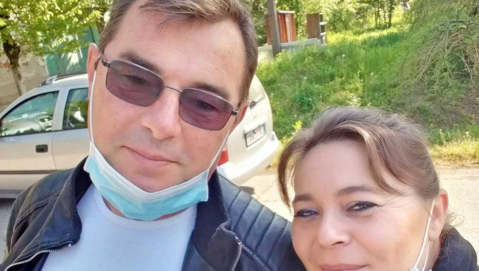 mladenci dragan i biserka jovanović