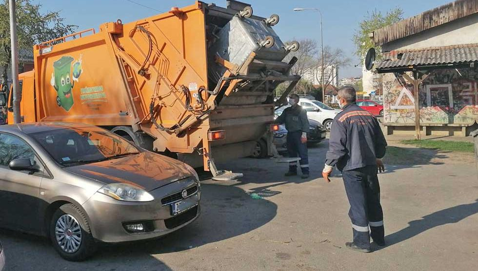 služba za iznošenje komunalnog otpada