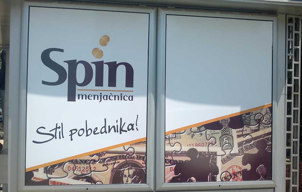 menjačnica spin