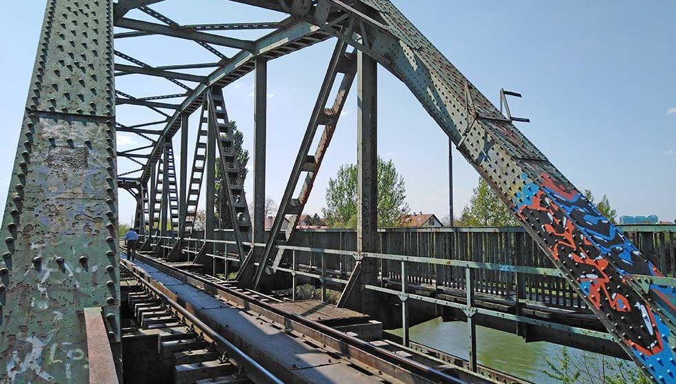 demontaža železničkog mosta