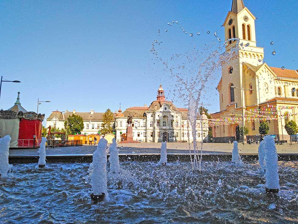 fontana u centru