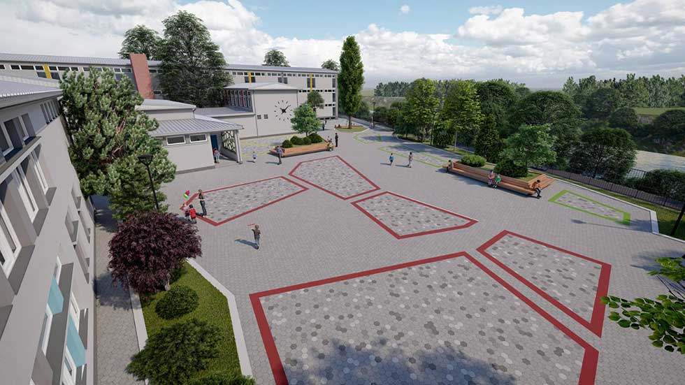 školsko dvorište