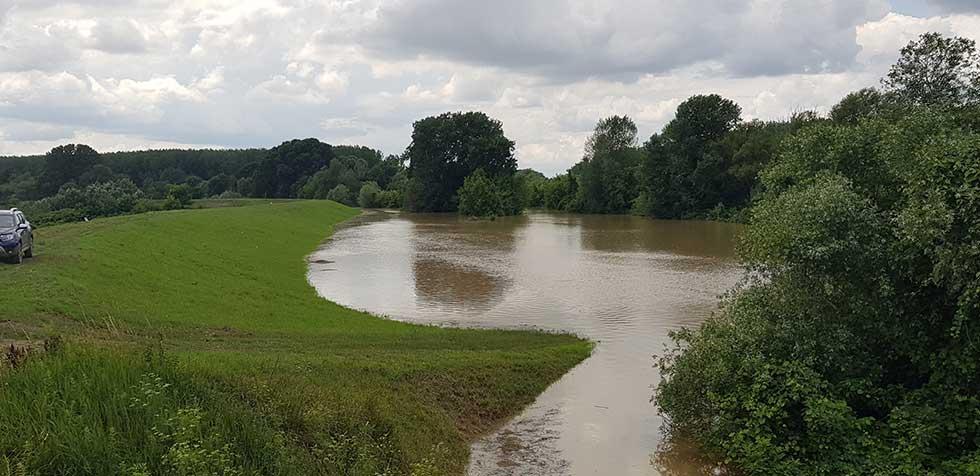 vanredna odbrana od poplava
