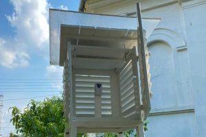 portal vojvodinameteo postavio automatsku meteorološku stanicu