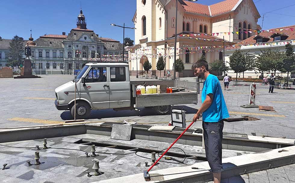 čišćenje fontana