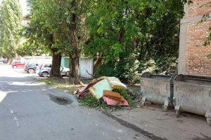 komunalna milicija da spreči gomilanje otpada