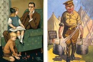 izložba rat i humor