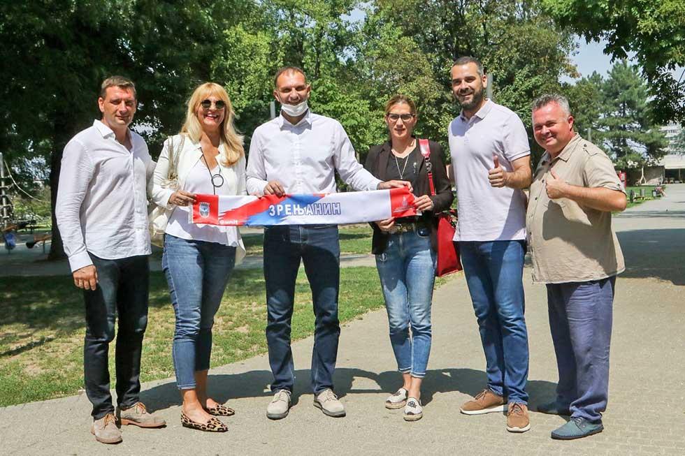 saradnja sportskog saveza beograda i zrenjanina