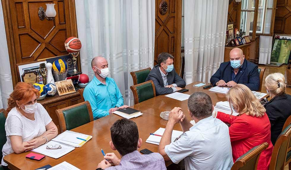 gradonačelnik održao sastanak sa direktorom prekona