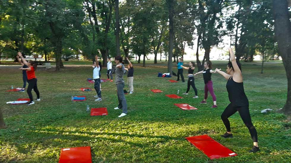besplatni treninzi u karađorđevom parku