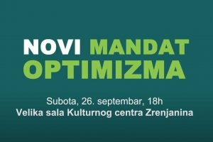 novi mandat optimizma