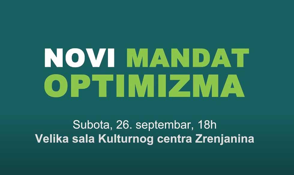 novi mandat optimizma