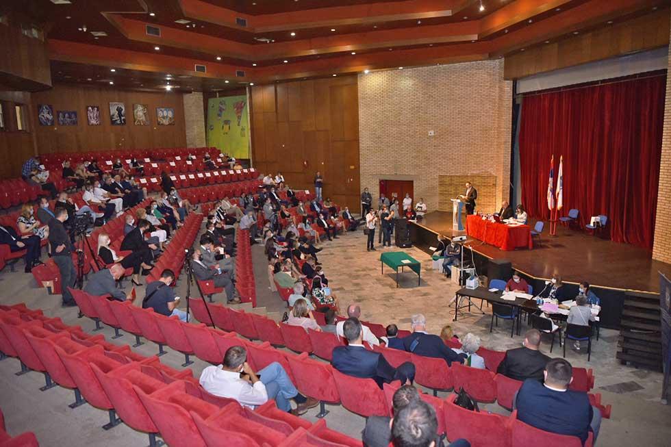 sednica skupštine grada zrenjanina