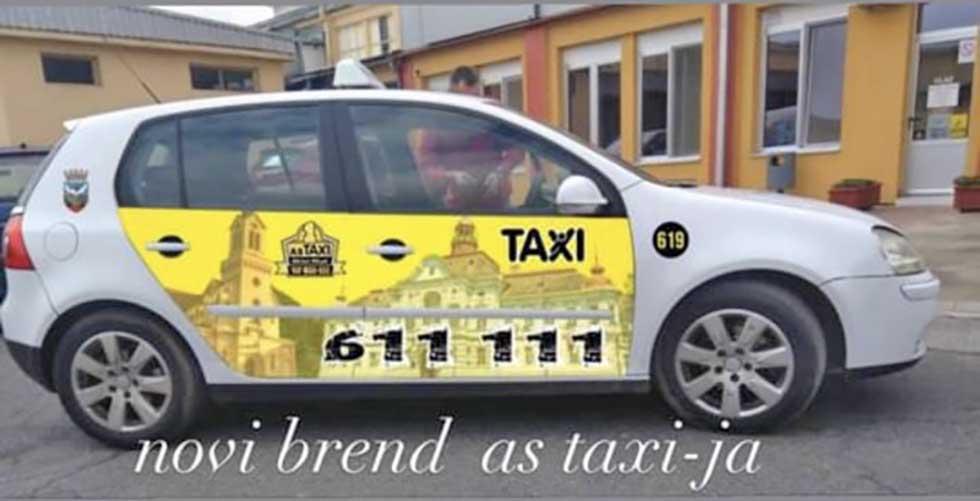 vozila as taksija