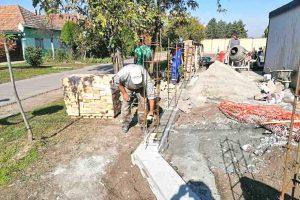 novi zid na reformatorskom groblju