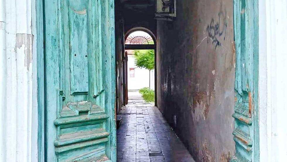 vrata s dušom