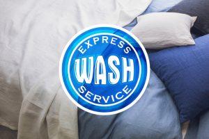 wash express service opraće i osušiti vaše prekrivače