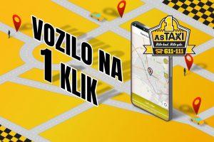mobilna aplikacija as taksija