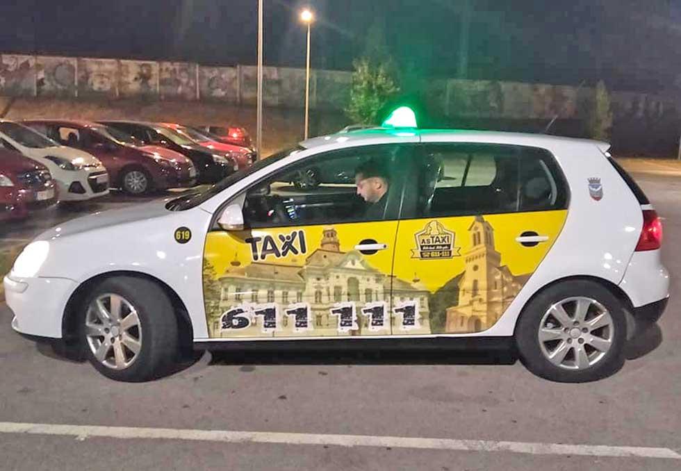 bezbednost u as taksiju