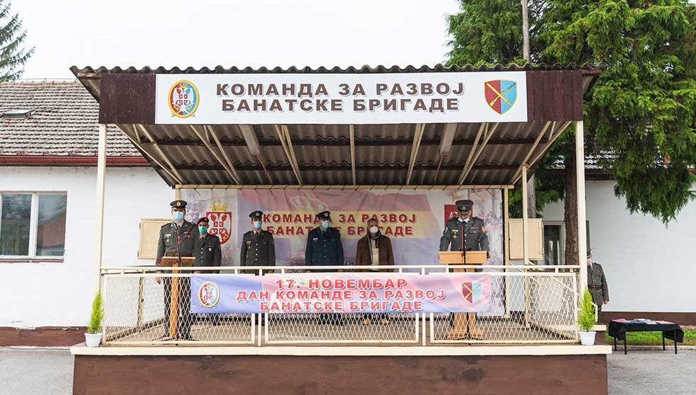 dan komande za razvoj banatske brigade