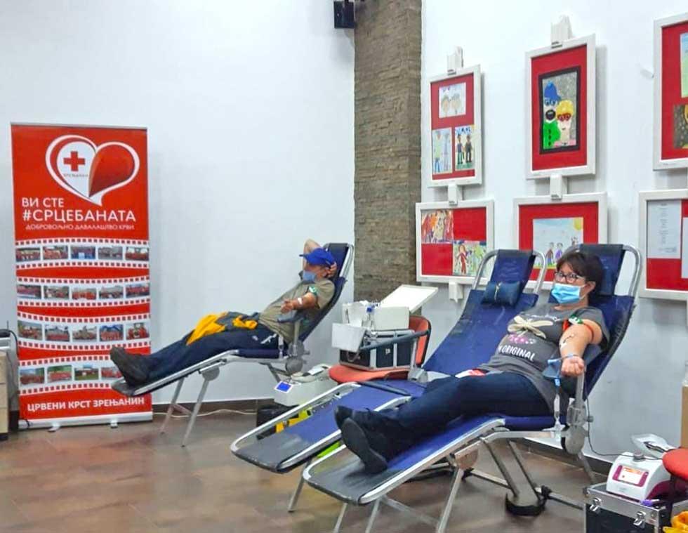 akcija dobrovoljnog davanja krvi u mz na bagljašu