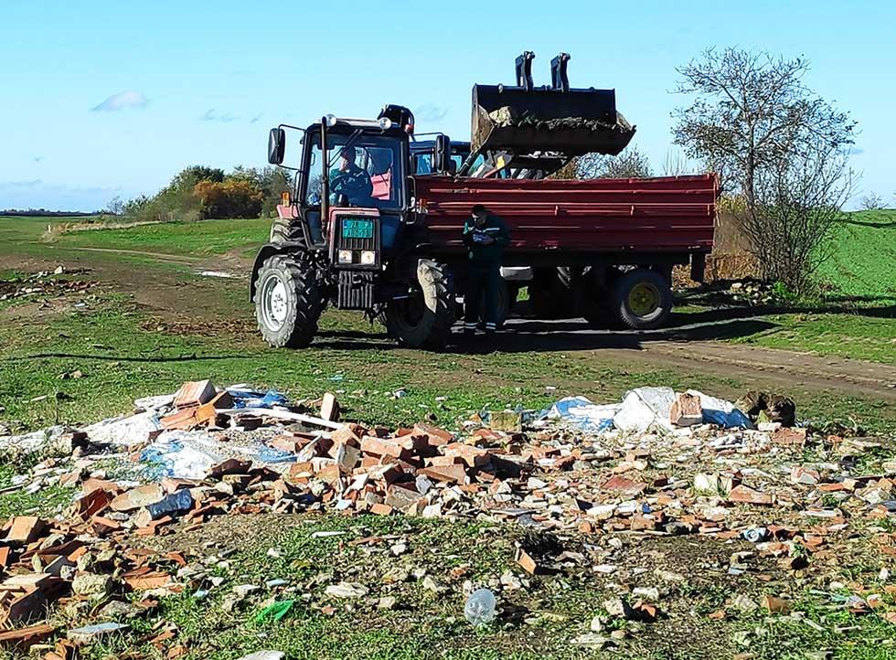 uklonjeno blizu trideset tona otpada