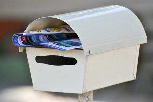reklamni materijal u poštanskom sandučetu