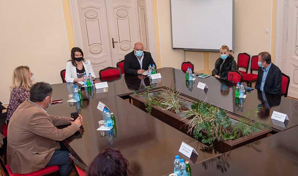 predsednik skupštine grada zrenjanina organizovao sastanak