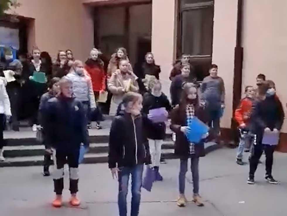 fk partizan podelio snimak učenika