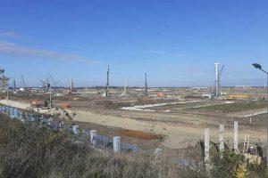 gradilište fabrike linglong