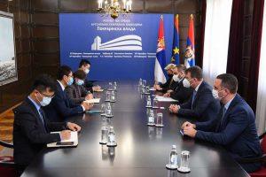 igor mirović sa kineskom delegacijom