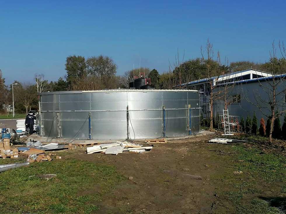 izgradnja rezervoara za vodu