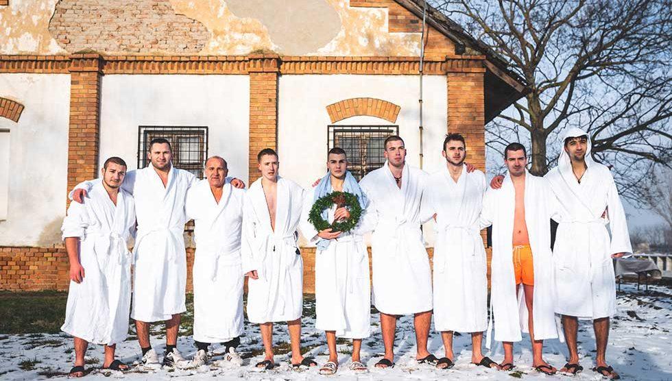 časni krst u kleku