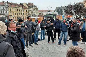 protest poštara u zrenjaninu